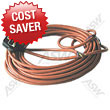 FLEX 15 METRE 1.5MM 3 CORE ORANGE